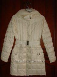Стильный пуховик пальто Reebok размер S наш 42