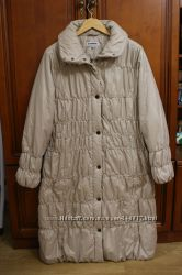Стеганное деми пальто Steinberg размер 50 XXXL