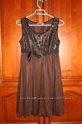 Стильное платье сарафан Fouerm France размер S-M