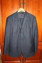 Мужской пиджак и брюки Kezman синий размер 50