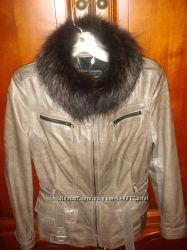 Итальянская Курточка из натуральной кожи, размер 42