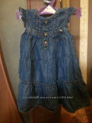 Mayoral джинсовое платье