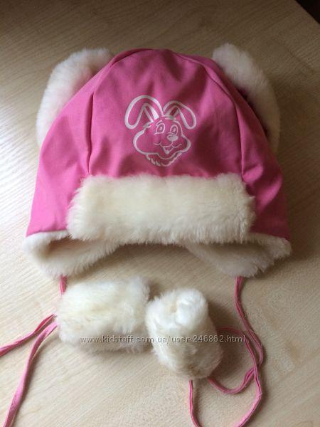 Тепленька зимова шапочка Feja