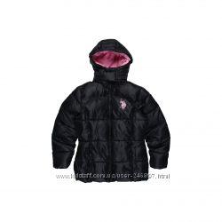 Куртки  для девочек 8-12 лет. фирменные U. S. POLO ASSN. США. КАЧЕСТВО