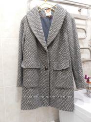Тёплое пальто бойфренд