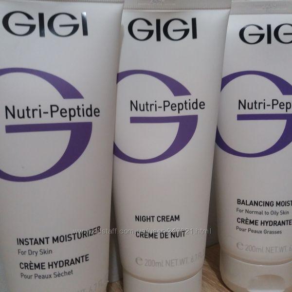 GIGI Nutri-Peptide - Линия с пептидами для молодости и сияния кожи