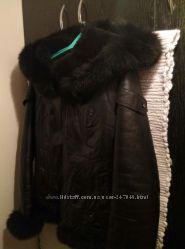 Кожаная куртка на цегейке
