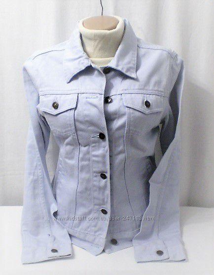 Шикарная стильная джинсовая куртка .