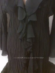 Шикарный нарядный шифоновый блузон.