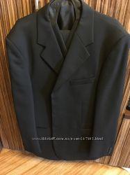 Итальянский пиджак с жилетом на крупного мужчину.