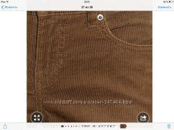 Новые , красивые, вельветовые брюки Esprit р  S