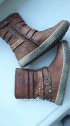 Ботинки кожа 19 см стелька
