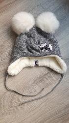 теплые шапки для малыша