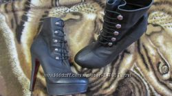 Модные и  стильные ботинки обуты 3 раза 37 р-р