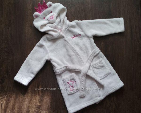 Махровый халат для девочки Matalan