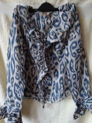 Блузка леопардовой расцветки