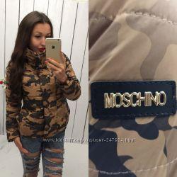 Куртка Москино камуфляж