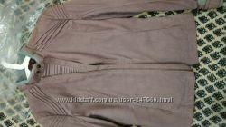 эксклюзивная оригинальная кожаная куртка HUGO BOSS
