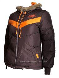 Adidas Originals детская теплая куртка с капюшоном размер 152