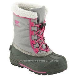 фирменные зимние сапоги    Sorel Youth Cumberland Girls Winter Boots