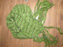 фирменные теплые шарфы шапки рукавицы шали на любой вкус Италия 100 ори