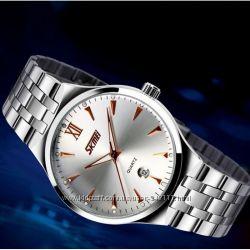 Стильные часы Skmei Silver 9071