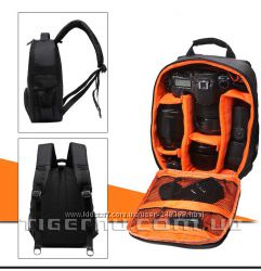 Рюкзак для камеры Tigernu T-C6005 чёрно-оранжевый