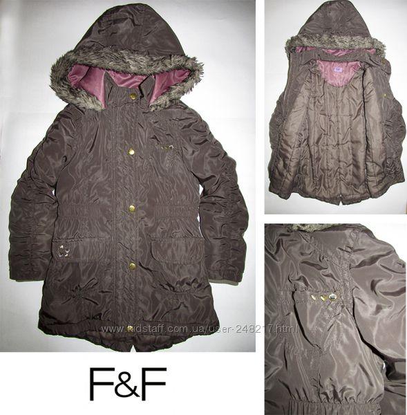 Куртка -парка F&F на 4-5 лет