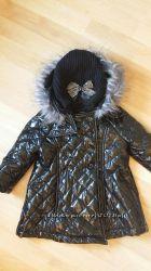 Шикарное лаковое пальто для малышки Childrens Place