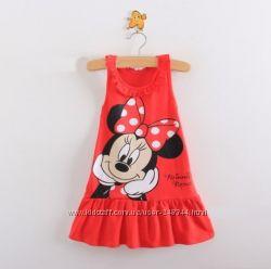 Платье туника с Минни Minnie Mouse для девочки р. 100-140
