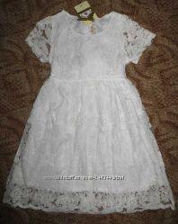 Новое нарядное платье для девочки 5 лет