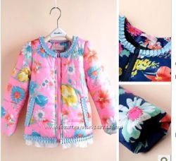 Яркие курточки для девочек