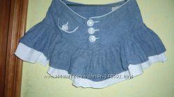 Стильной девчонке юбка джинсовая.
