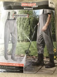 Водонепроникні штани на підтяжках powerfix