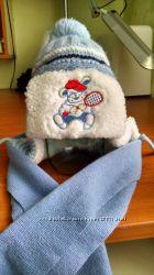 Зимняя шапочка с шарфиком - Польша