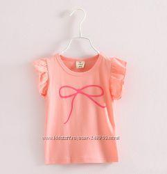Маечки, футболки и костюмчики для девочки