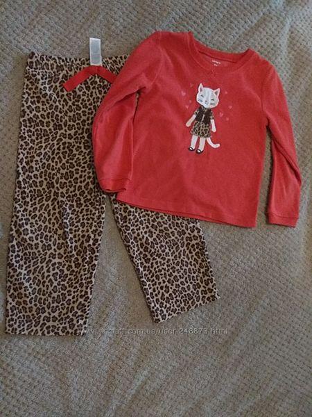 Флисовая пижама carter&acutes