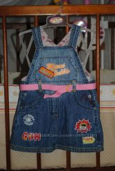Стильный сарафан Chicco для маленькой модницы