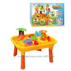 Стол-песочница для игры с водой и песком Аквапаркстульчик