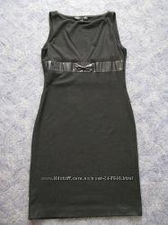 Черное платье-футляр Polo Garage