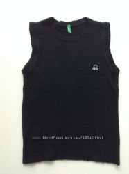Шерстяная жилетка Benetton на 9-10 лет