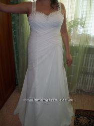 Свадебное платье для шикарных форм