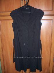 Классное летнее платье  лен