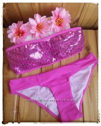 Распродажа Купальник с паетками в стиле Victorias Secret