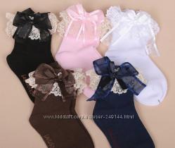 В наличии Нарядные носочки для девочек с кружевом