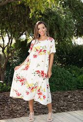 Идеальное платье, садится супер, скрывает животик код 334