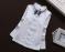Нарядная блузка реглан гольф с кружевом р. 80-160