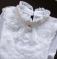 Нарядная блузка реглан гольф с кружевом р. 120-160