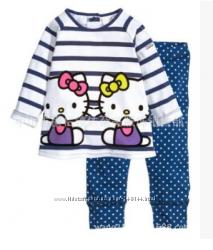 Брендовая пижама с китти Jumping Beans 2Т и 3Т