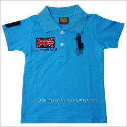 В наличии брэндовая футболка поло Ralph Lauren, Ferarri для мальчиков